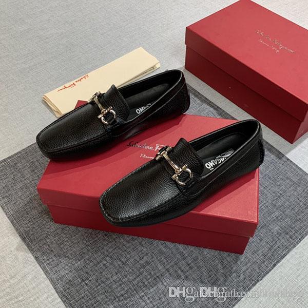 zapatos de vestir de los nuevos hombres de llegada de la manera clásica de lujo superestrellas de ocio shoess cuero reales zapatos de moda los niños de baloncesto con conexión shi