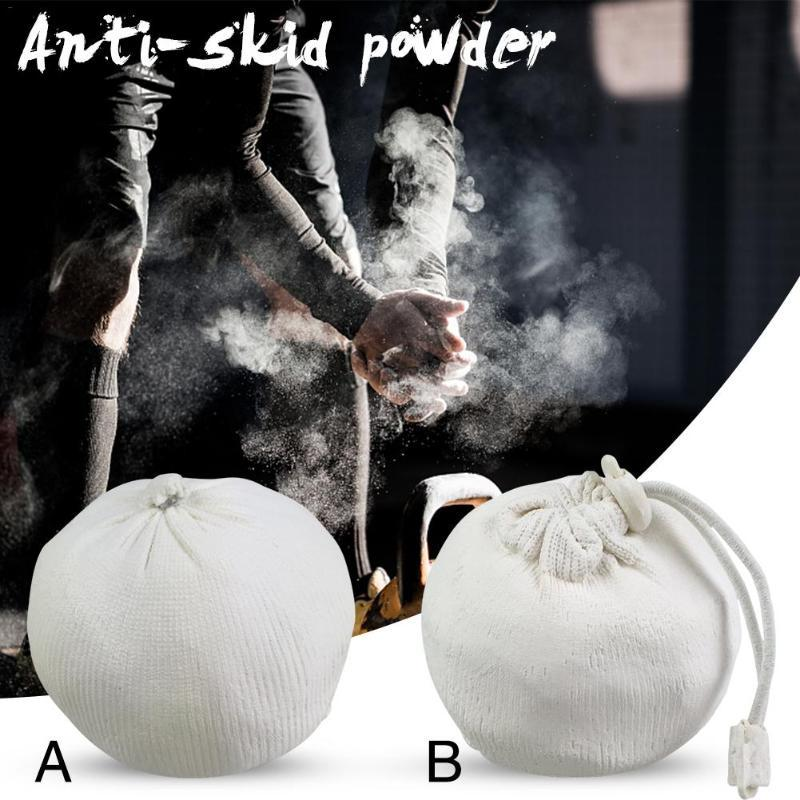 Gimnasia Halterofilia antideslizante Escalada Powerlifting en polvo de tiza Gimnasio magnesio bola de la aptitud de accesorios