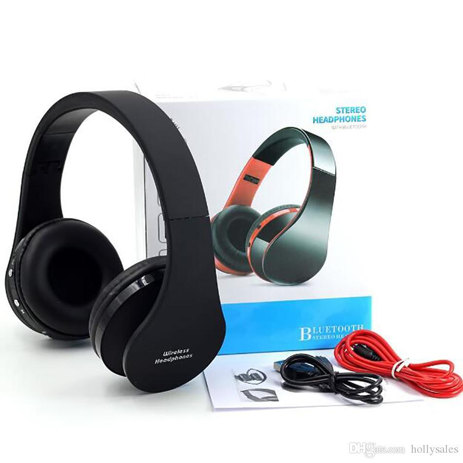New Arrival Nx 8252 Foldable Wireless Bluetooth Stereo Headphone Headset With Mic For Iphone Ipad Pc With Factory Price Dhl Best Headphones Under 100 Head Phones From Yaolei010 17 62 Dhgate Com