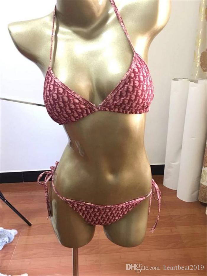 2020 senhoras praia maiô super sexy lingerie biquíni quente 2 peças swimsuit traje de banho quente frete grátis 1559