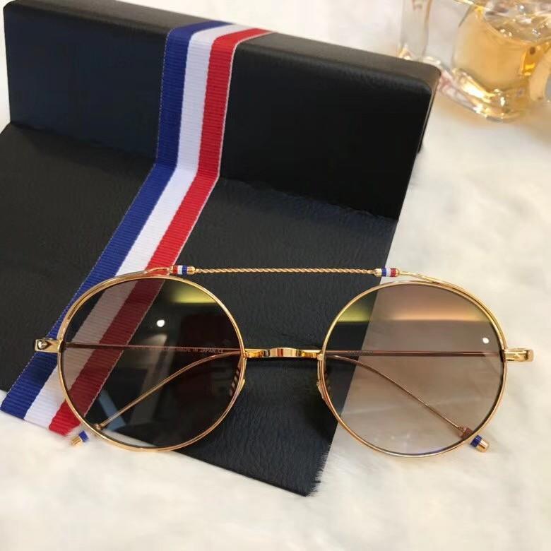 Luxo-Novo designer de óculos de sol para mulheres dos homens óculos de sol para as mulheres óculos de sol dos homens marca de luxo óculos de sol mens óculos T910