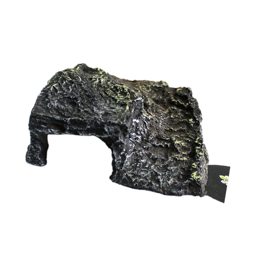 Рептилия Виварий Декор Скрыть Пещера Черепаха Плавучая Греющаяся Платформа Пирс Рок
