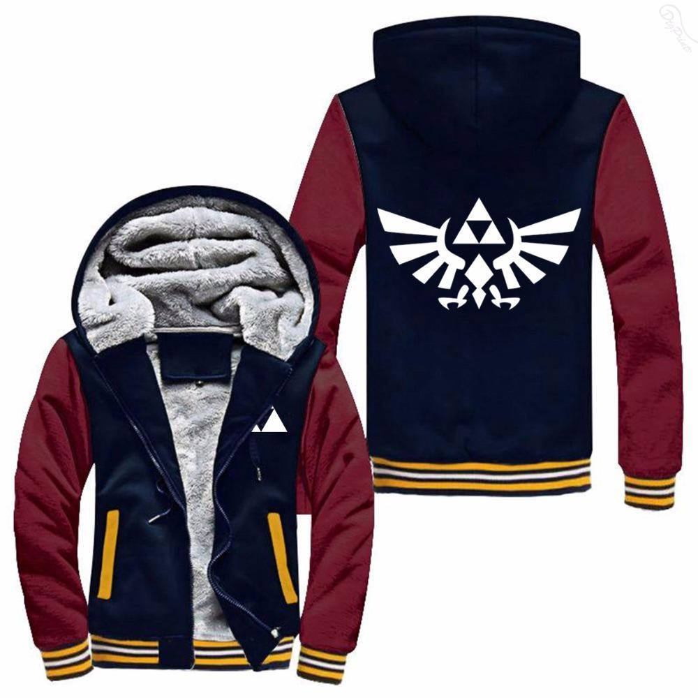 The Legend of Zelda Hoodie Zipper Coat Jacket Sweaters Skateboard Sweatshirt NEW