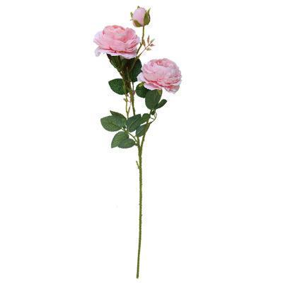 اصطناعية الفاوانيا الأوروبي روز زهرة 61cm والحرير زهرة زهرة لزهرة اصطناعية الرئيسية مناسبات الزفاف باقة 3 رؤساء