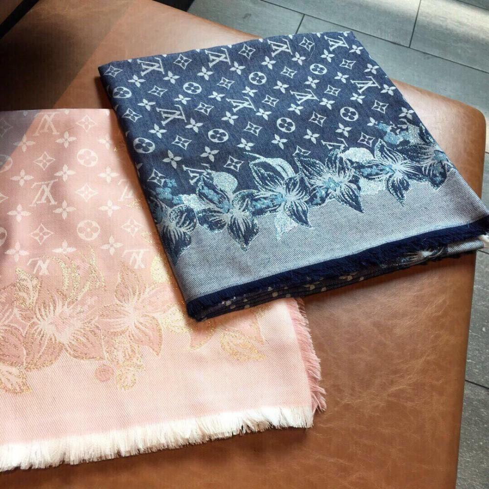 шарф платок золотая нить вырезать цветок ремесло шаль модный цветок Лу Женские обрезки лучшего качества размер шали 140 * 140
