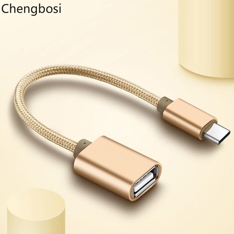 Марка Type C USB 3.1 между мужчинами OTG Type-A Женский кабель-адаптер для Android LeTV Huawei Oppo Vivo планшетный ПК Samsung смартфон