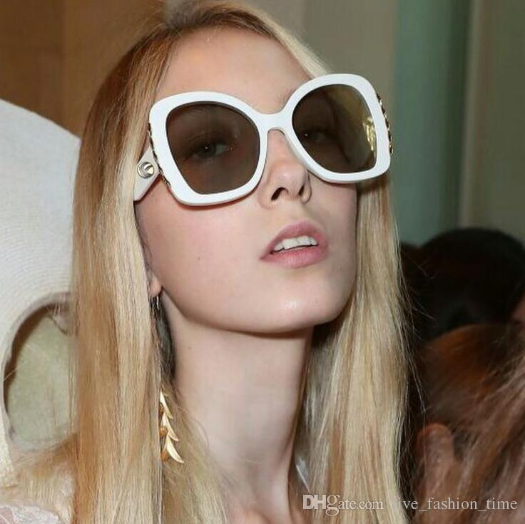 Brand Designer 2019 Occhiali da sole Donna Moda Lenti di resina Classici occhiali da sole femminili per occhiali da sole vintage da guida Outdoor Eyewear UV400