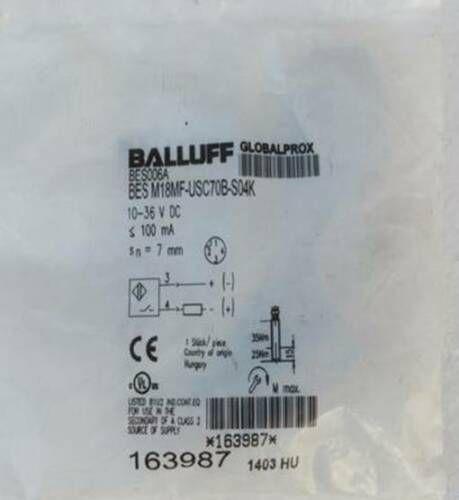 1PC Nuovo BALLUFF BES sensore M18MF-USC70B-S04K BES006A # 019