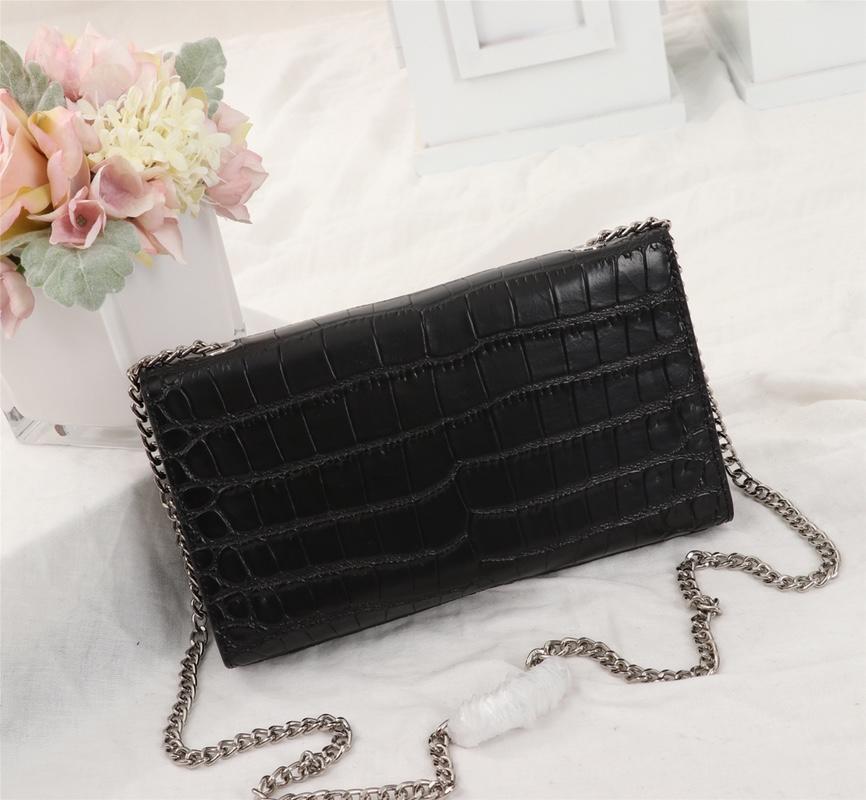 2019 borsa retrò borse modo di vendita caldo delle donne borsa catena borsa di pelle a tracolla e spalla borse, dimensioni: 24,5 centimetri * 15cm * 5cm