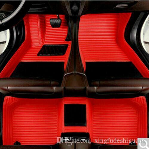 Car Floor Mats Front & Rear Liner Waterproof Mat For Ford Taurus 2015-2019