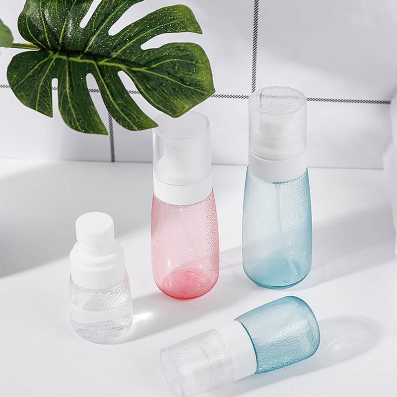 Spot UPG flacone spray spruzzo sole può 100ml profumo a forma di U imbottigliato bottiglia di plastica trasparente, alcool spruzzo bottiglia.
