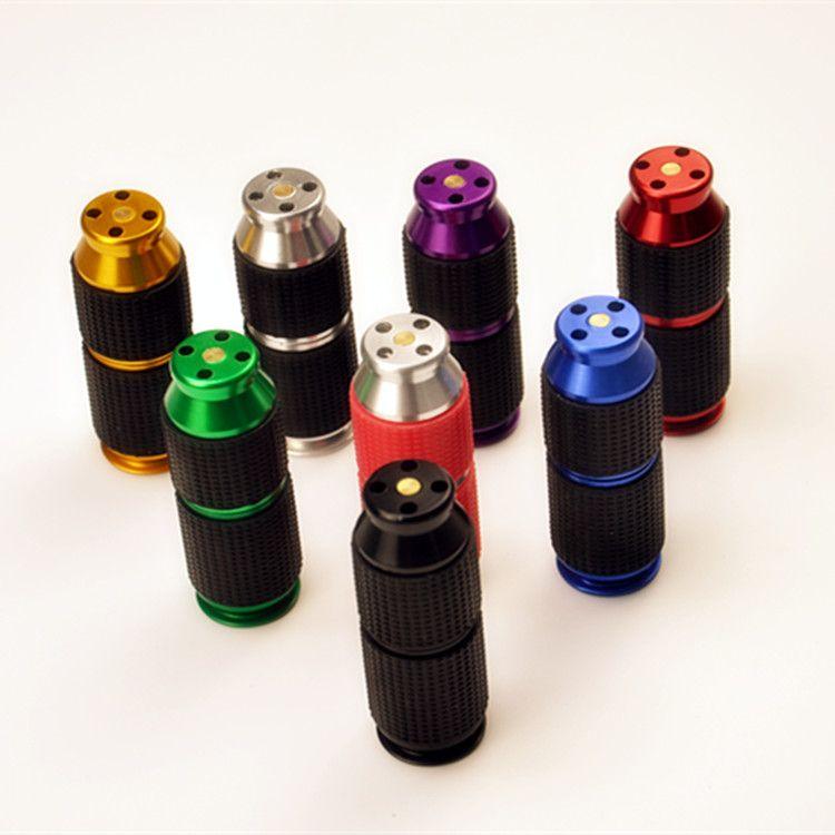 Gas Cracker N2O Aluminium Cracker mit Gummigriff Bunte Sahne- und Schaum Rauchen Peitsche Mini Abroller Schlag Opener