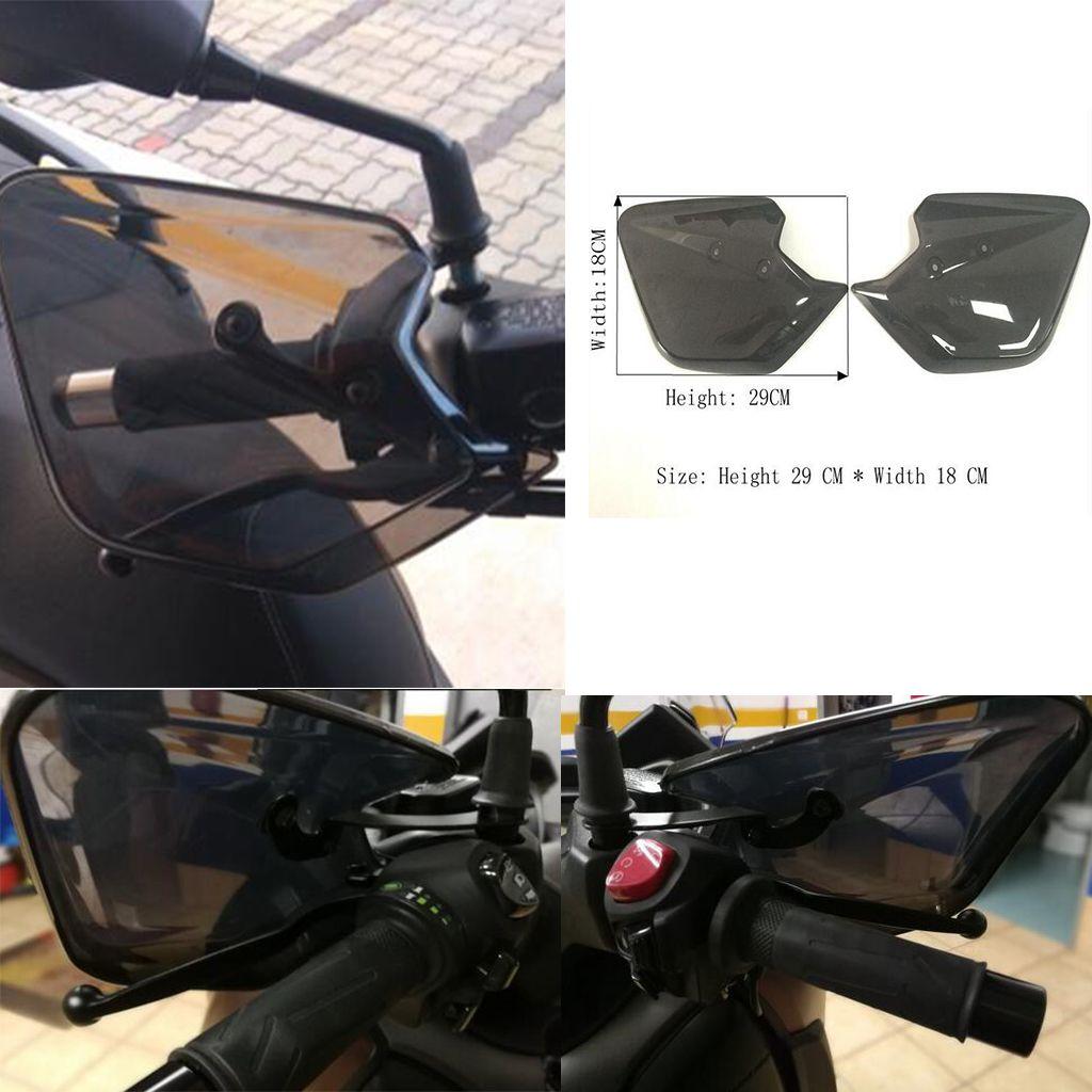 1 زوج الدراجات النارية الحرس اليد المقود HANDGUARD التعامل مع حامي للياماها XMAX 250 300 2017 2018 دراجة نارية - دخان