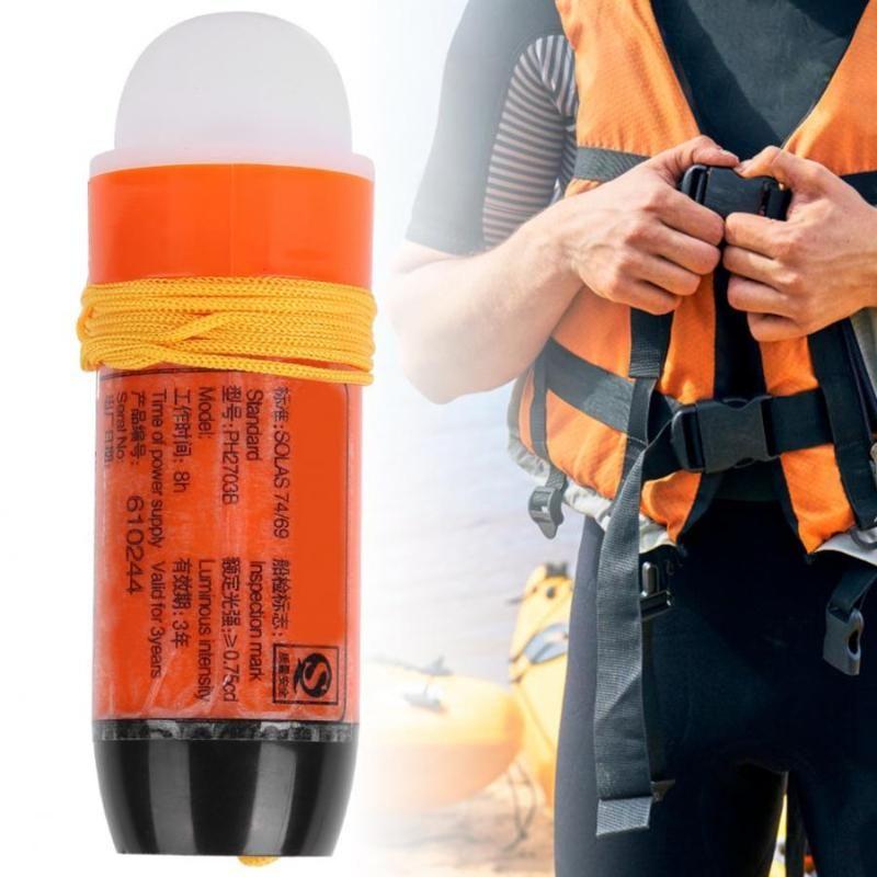Жизнь Жилет Буй Куртка Свет Прочный Компактный Литиевый Батареи Батареи Экономия Оборудование для Лодки Использовать спасательные продукты
