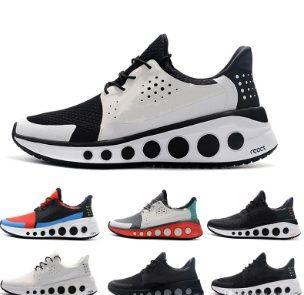 2019 nuevo REACT CRUZRMAX element luxury design athletic Trainer Sports Running Shoes para hombre Negro azul gules blanco Zapatillas de deporte Tamaño 40-45