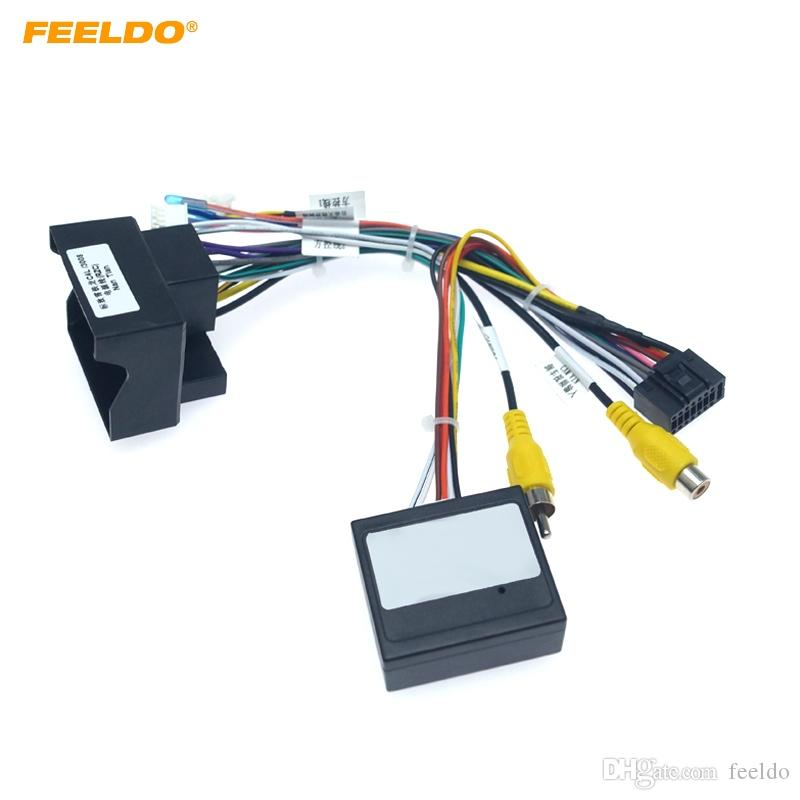2021 FEELDO 16 Pin Car Android Stereo Wiring Harness For Peugeot 3008/2008/ Citroen C4/C Quatre/C4L/C3 XR/C5/DS6 #6226 From Feeldo, $6.67 | DHgate.Com | Citroen Wiring Harness |  | DHgate.com