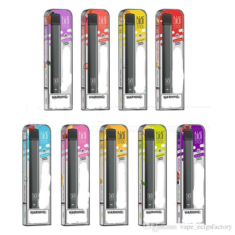 Bidi Stick Disposable Vape Pen 1 4ml Oil Carts 280mah Battery Bidi Stick Device Pods Empty E Cigarettes Vapes P K Pop Puff Bar Disposable E Cig Reviews Disposable E Cigarette Reviews From