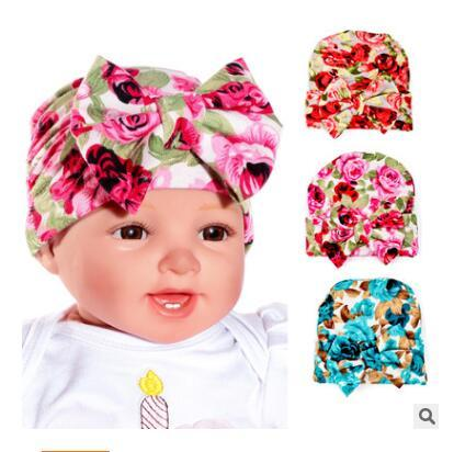 50b2c84f8 2019 27 Styles Cotton Caps Girl Hats Newborn Baby Infant Toddler Hat  Bowknot Hospital Cap Flower Kid Beanie Hats Cute Soft Gifts From  Popular_one, ...