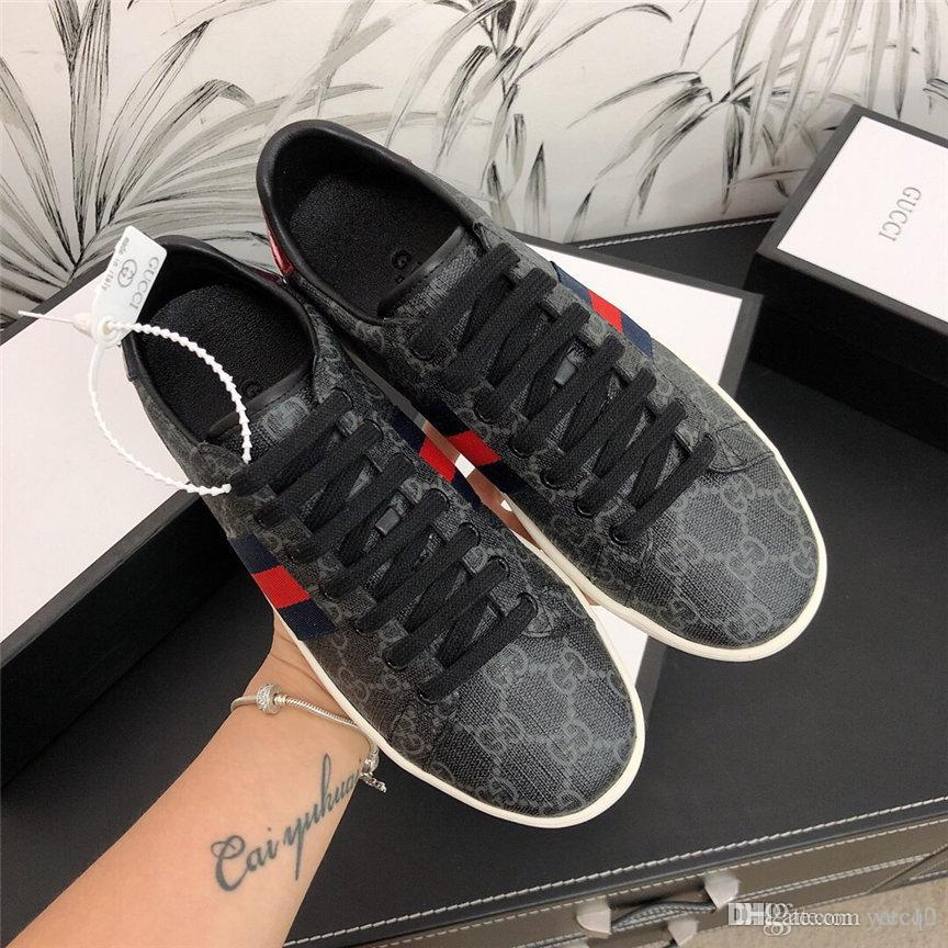20FW I progettisti di lusso a basso Inizio Stampa inferiore rosso Casual Scarpe uomo Moda formatori per Mens Sneakers donne YETC0 TC0