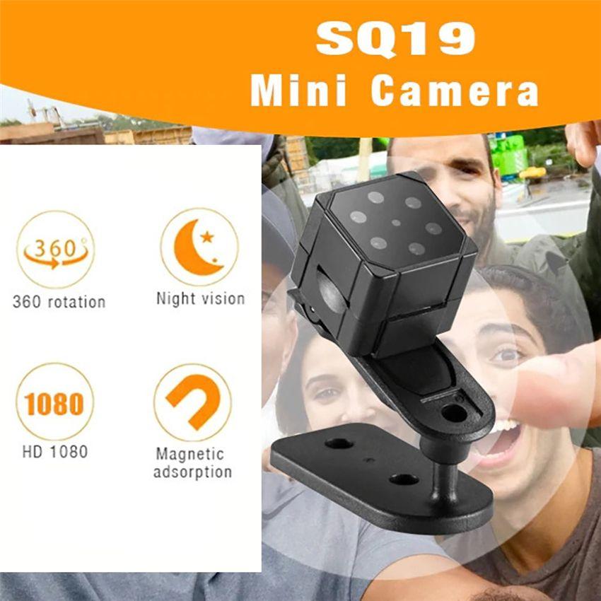 SQ19 Mini Camera Portable Handheld FULL HD 1080P Camera DVR Surveillance IR Night Vision DV Recorder Home Security Cam CCTV Cameras