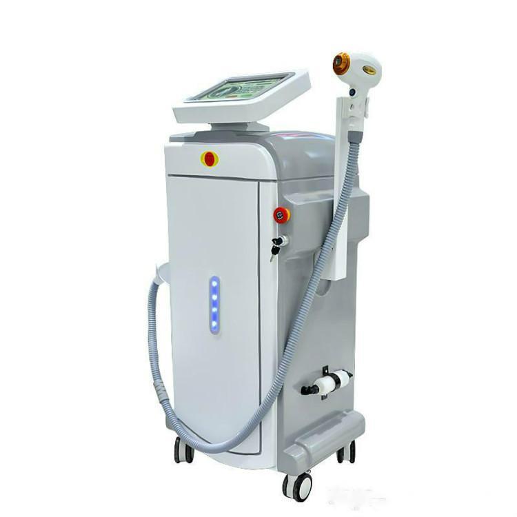 Rimozione nuovo Super multifunzione OPT SHR IPL Depilazione laser ND tatuaggio del laser YAG macchina di bellezza forte energia IPL RF ND YAG Elite