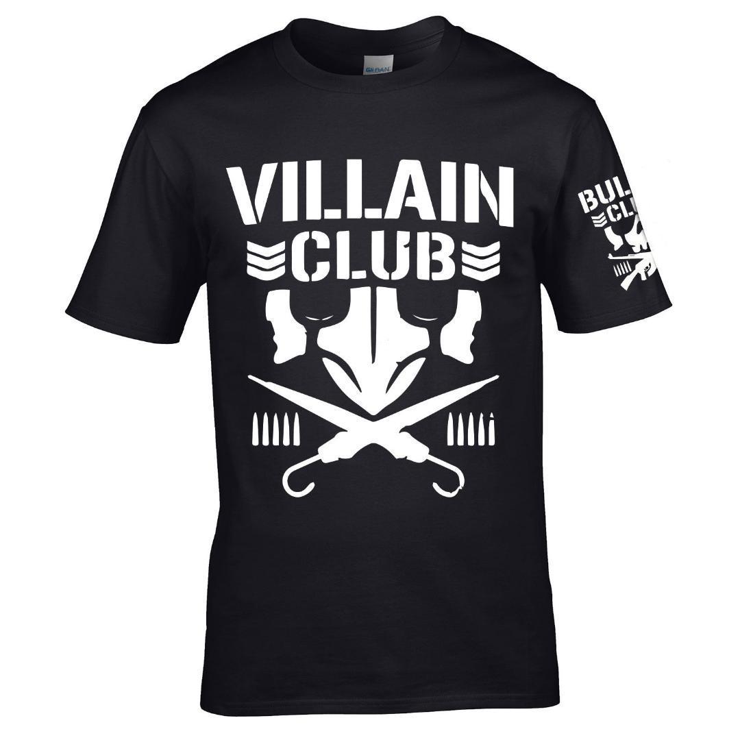 YUAYXEA Marty scurll vilão clube camiseta njpw kenny omega jovem fanfarrão dos homens Em Torno Do Pescoço camisetas tops confortável