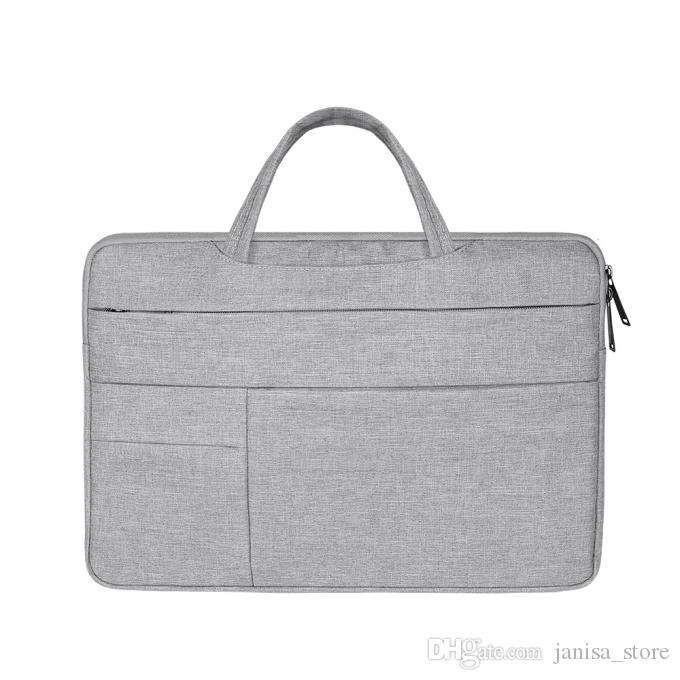 متعددة الوظائف للماء وتنفس أكسفورد القماش المحمولة حقيبة بطانة ل macbook1345 بوصة شعار للتخصيص