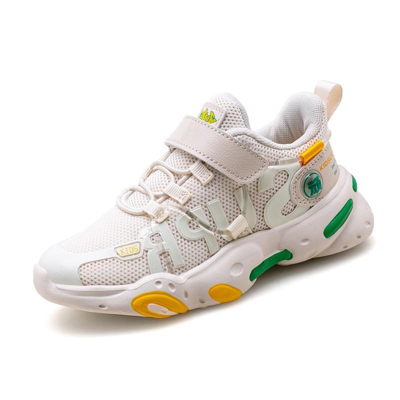 Primavera Ragazzi Ragazze moda delle scarpe da tennis del bambino / bambino / scarpe scuola Bambini Poco Mesh formatori bambini Sport soft Scarpe da corsa