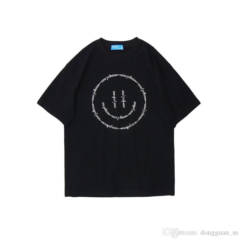 Shinning uomini e le donne T shirt manica corta originale allentati di Hip Hop casuale maglietta girocollo oversize estivo Top Tees 2020