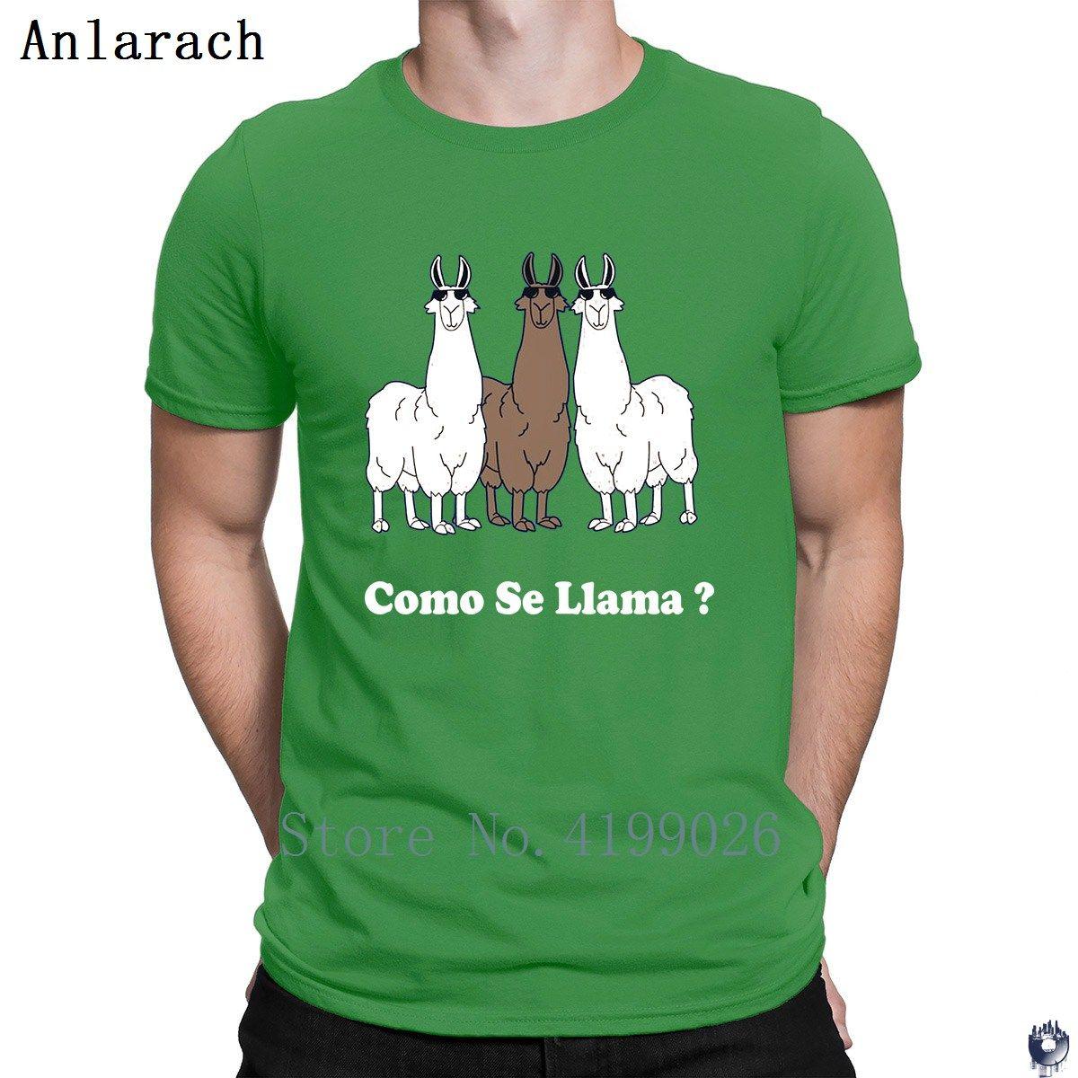 Como se llama? Spagnolo Qual è la vostra camicia Nome T colore solido HipHop personalizzato T-shirt per gli uomini modello Sunlight esilarante