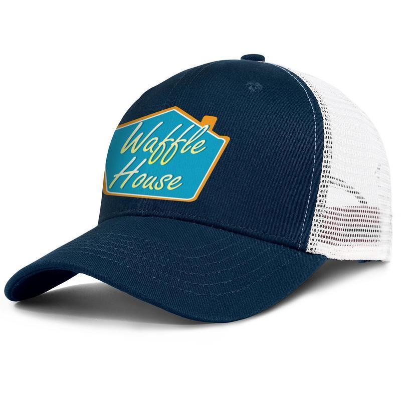 Logo gaufre maison pour hommes et femmes réglable camionneur meshcap personnalisé cool mignon classique baseballhats conception la Cofe débat gaufre