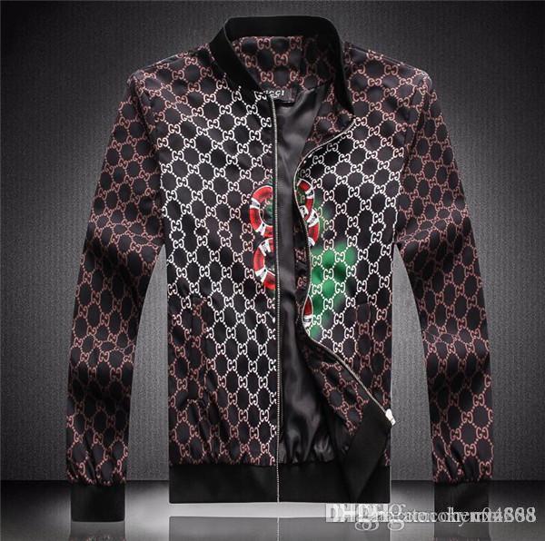 erkek giyim parti için sonbahar ve kış, lüks moda hattı için yeni yüksek kaliteli Avrupa ceket, BOYUT M ~ 3XL # 1038
