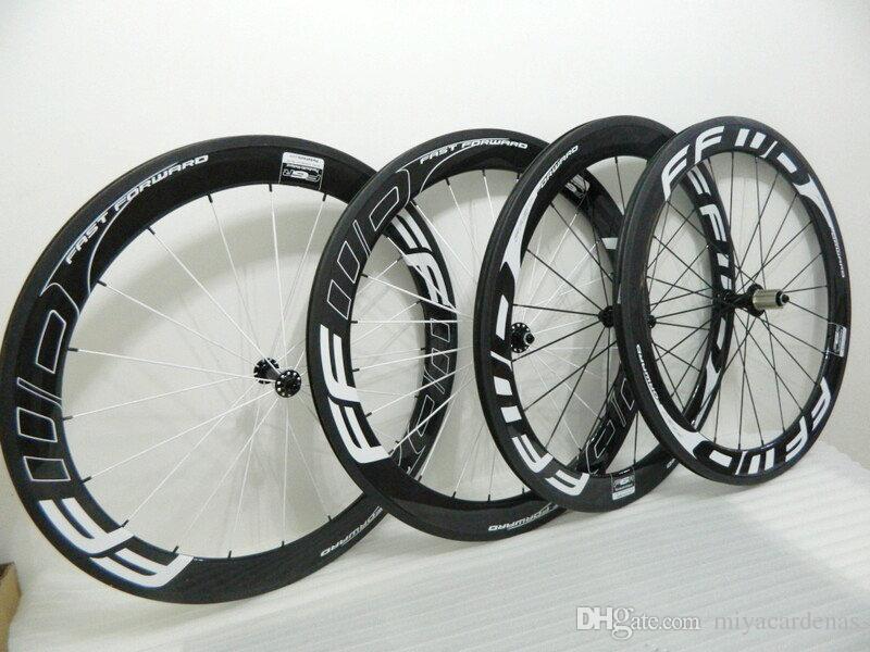 FFWD carbon fiber road bike wheelset 60mm road bike wheels Ceramic Hubs Chincher 3K/UD Full Carbon Cycling Bike Wheelset