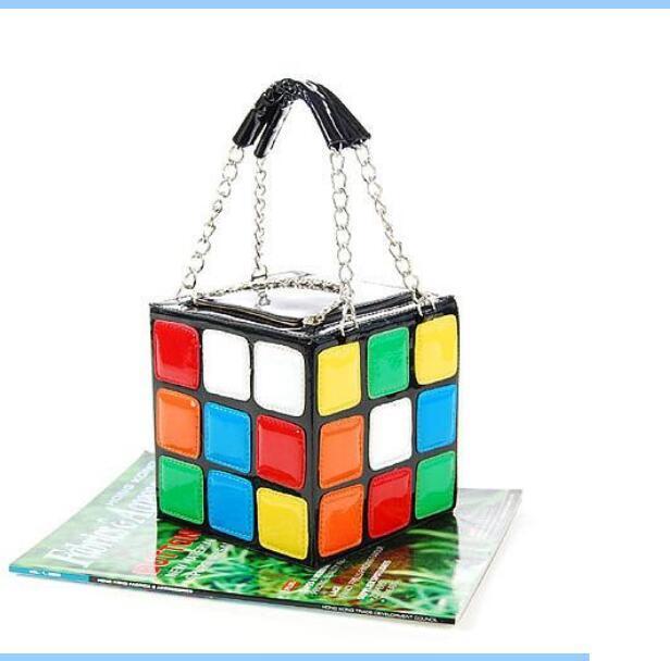 Designer--Fashion Hot Handbag Purse Gift,Girl Women's Cute Magic Cube Bag Products