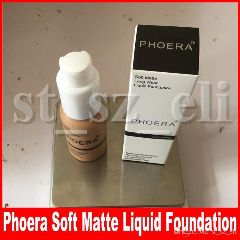 Phoera 10 färger ansikte makeup bas concealer ögon contour corrector cream flytande foundation corrective primer make up cream