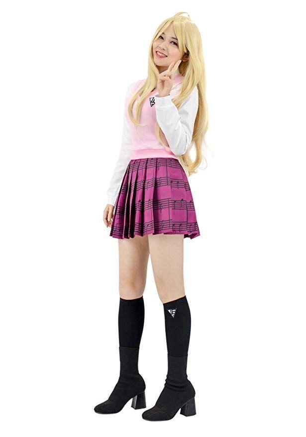 Anime Girl In High School Uniform