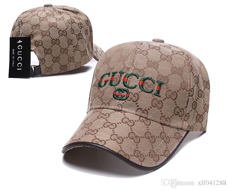 Venta caliente para hombre sombreros de diseño gorras de béisbol ajustables de lujo de moda dama de verano camionero casquette mujeres ocio cap