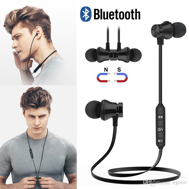 M10 drahtlose Bluetooth-Kopfhörer-Kopfhörer-Kopfhörer Hörmuscheln Magnetische Kopfhörer-Mikrofon Laufsport Earbud