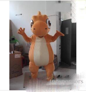 De haute qualité Taille Adulte Custom Made Dragon Costumes De Mascotte De Bande Dessinée Robe Livraison Gratuite Custom Made Toute Taille