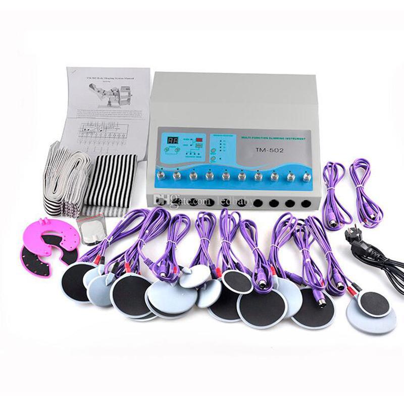 뜨거워 TM - 502 전기 근육 자극기 체중 감량을 ems 몸 성형 기계 슬리밍 머신 뷰티 장비를 판매