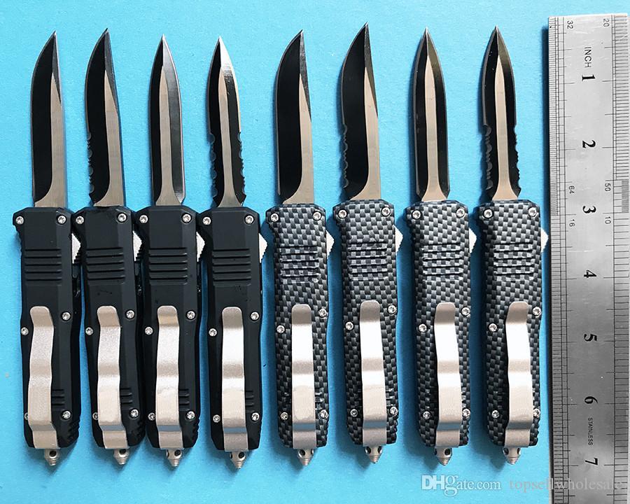 Benchmade trompette taille C07 couteau pliant tactique 7inche 440C lame en acier Camping Chasse A07 BM47 B01 Couteau de Survie Ceinture Boîte Au Détail