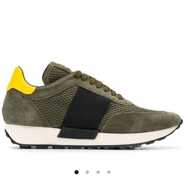 Moncler 2020 europäische Station Luxus-Ledersportschuhe für Männer lässig vielseitig Stretch-Stoff atmungs Mode Schuhe yhm03 Männer