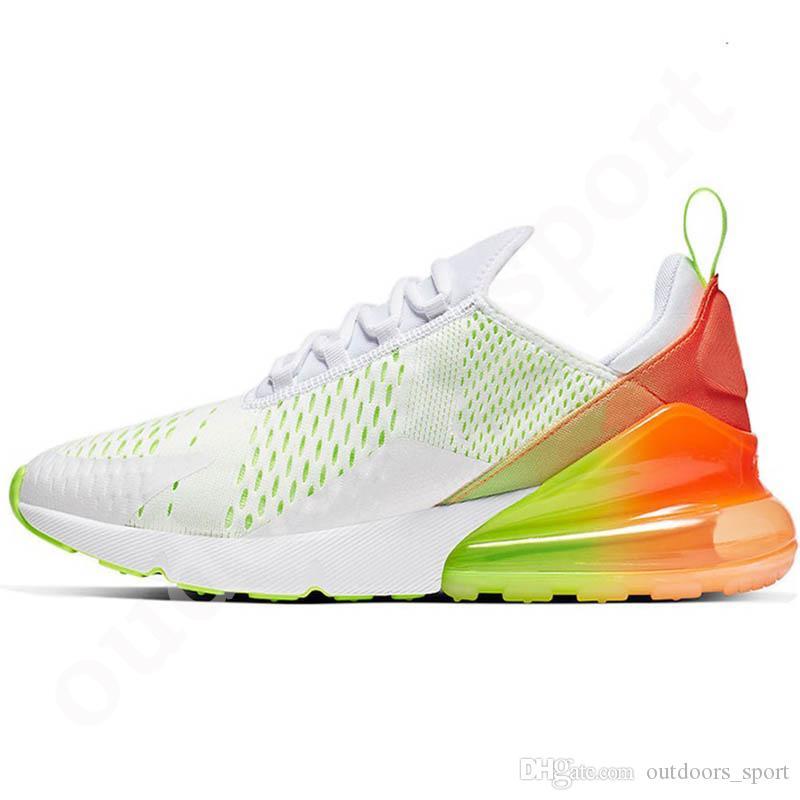 Acquista Nike Air Max 270 Scarpe Nuove Versioni Cuscini Donna Scarpe Scarpe Da Corsa Uomo Donna Bianco Nero Fucsia Volt Uva A Mala Pena Rosa Foto Blue