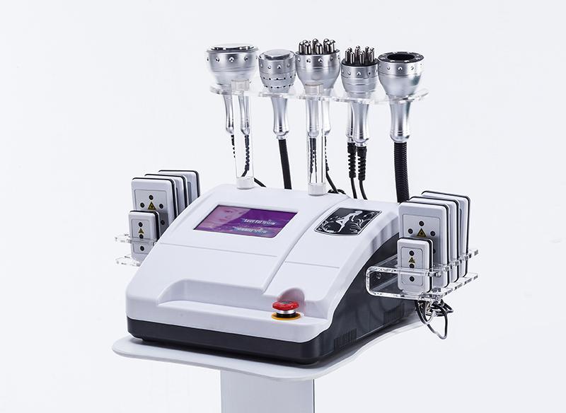 8 1 캐비테이션 RF 진공 극저온 해머 고주파 광자 슬리밍의 Lipo 레이저 기계의 ultherapy