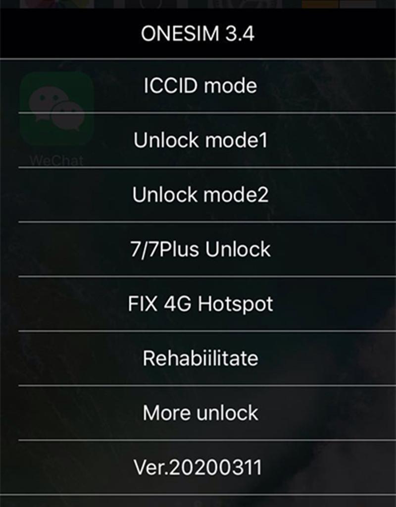 Livre DHL New ONESIM / GNSIM / GPLTE cartão SIM Unlock para iOS 13.x US / T-Mobile, Sprint, Fido, DoCoMo outros carrieres Turbo sim GEVEY