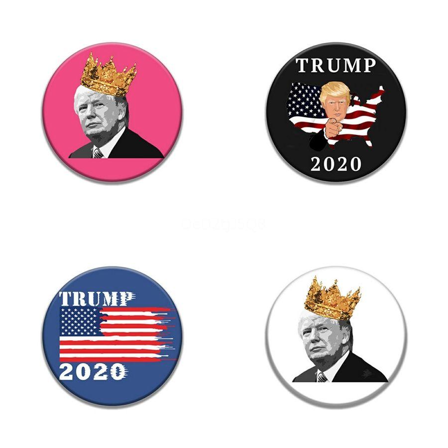 Hot Hot New Trump Badge rectangulaire Sun brodé Diy Vêtements Vêtements Armband 1Pc Sac à dos Hat Patch Trump broderie portable Badge # 304