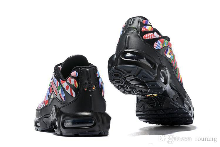 2019 TN Plus NIC QS 90 Designer Shoes International Flag Men Women Running Shoes World Cup Limited NIC QS Sneakers Shoes Tns From Rourang, $89.45  