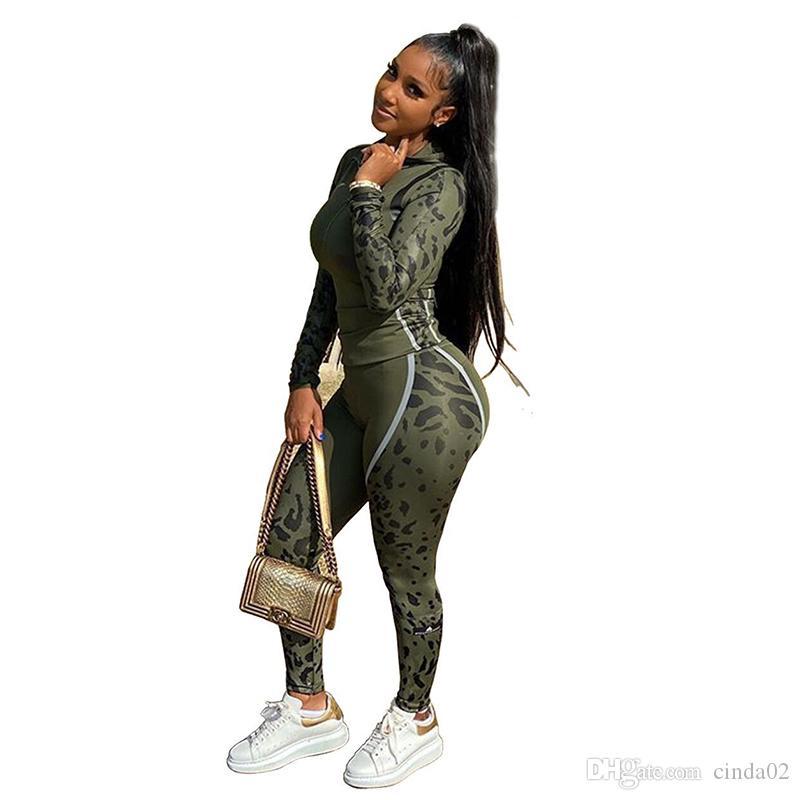 Le donne vestiti di tuta Tuta Runway sudore insieme a due pezzi top e pantaloni Lounge Wear 2 pezzi Ropa Deportiva Mujer caduta Outfits