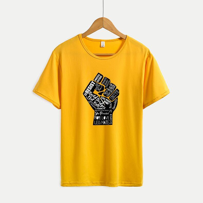 편지 Printted 남성 여성 T 셔츠 새로운 패션 캐주얼 티셔츠 여름 짧은 소매 남성 티 셔츠는 높은 품질 탑