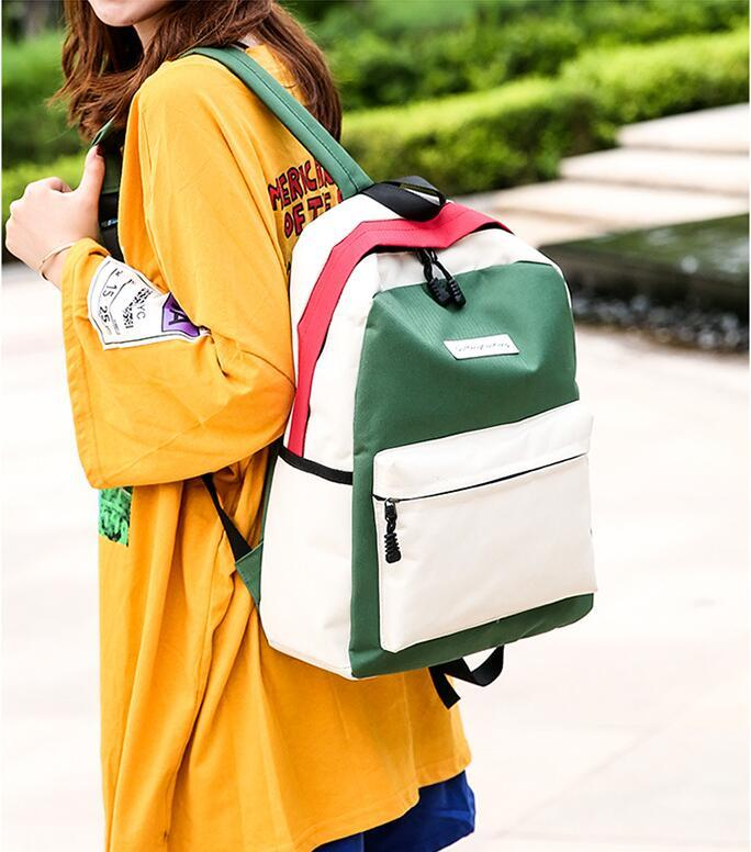 Großhandels-Groß Dame Fashion Wasserdichte Laptop-Rucksack Frauen Schule-Rucksack-Spielraum beiläufige Dame-Schulter Schulranzen für Mädchen Jungen Bagpack